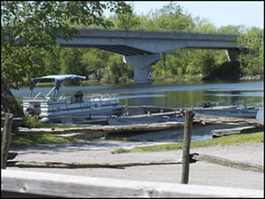 Bensfort Bridge Resort, cottages, camping and serviced RV spots near Peterborough, Ontario
